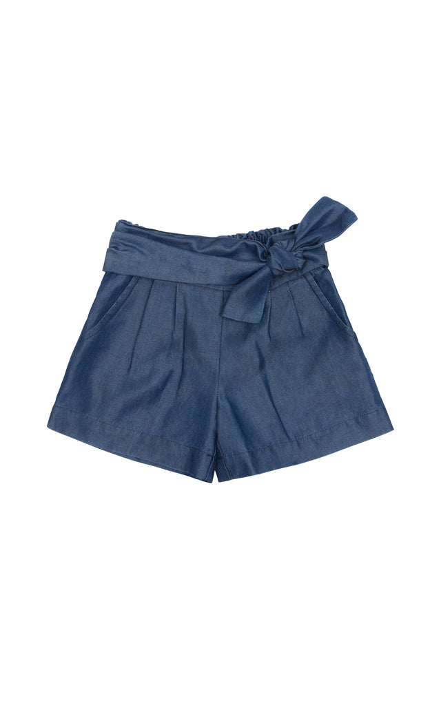 Rhyan Tie Front Shorts