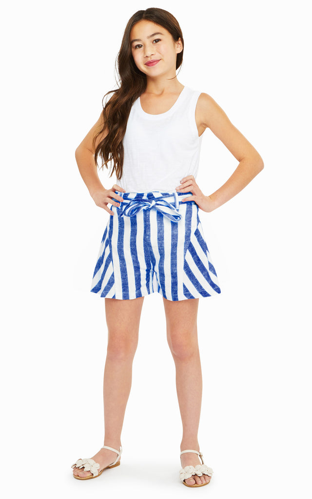 Tegan Stripe Short