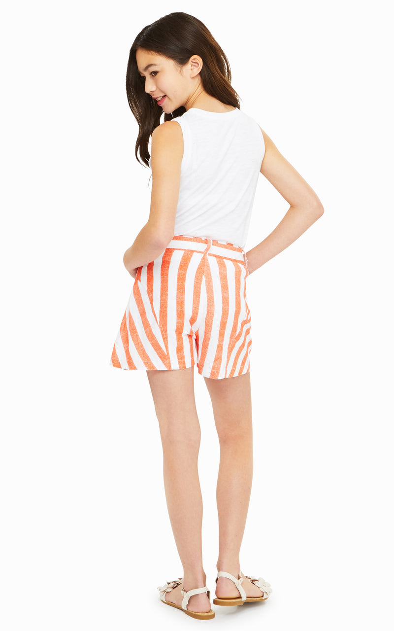 Tegan Stripe Short | 7-16 - Habitual