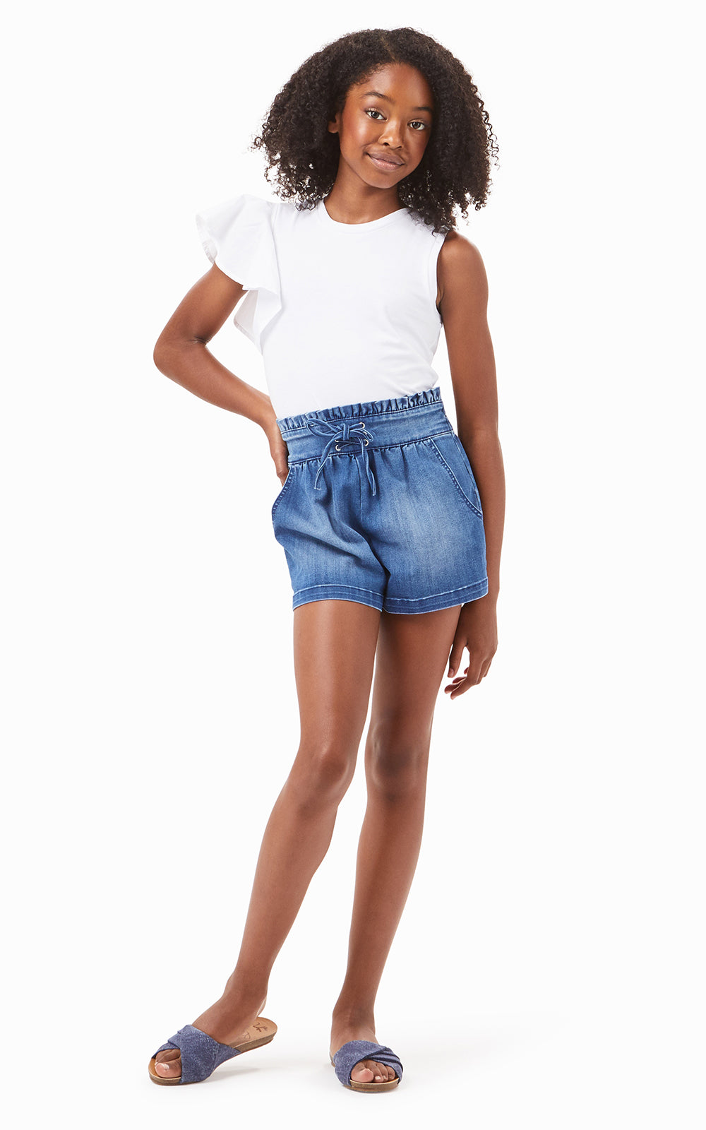 Lola Pull On Short | 4-6X - Habitual