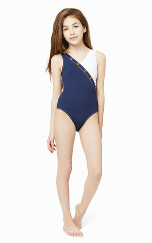 Ensley Colorblock One-Piece | 7-16 - Habitual