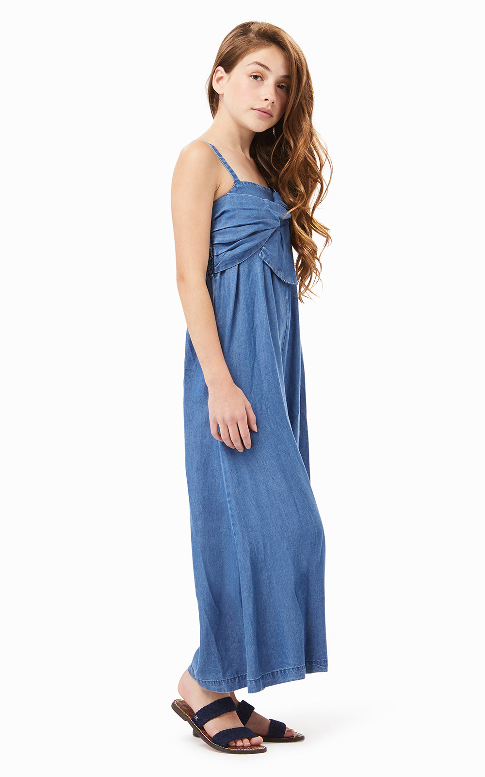 Eden Twist Jumpsuit | 4-6X - Habitual