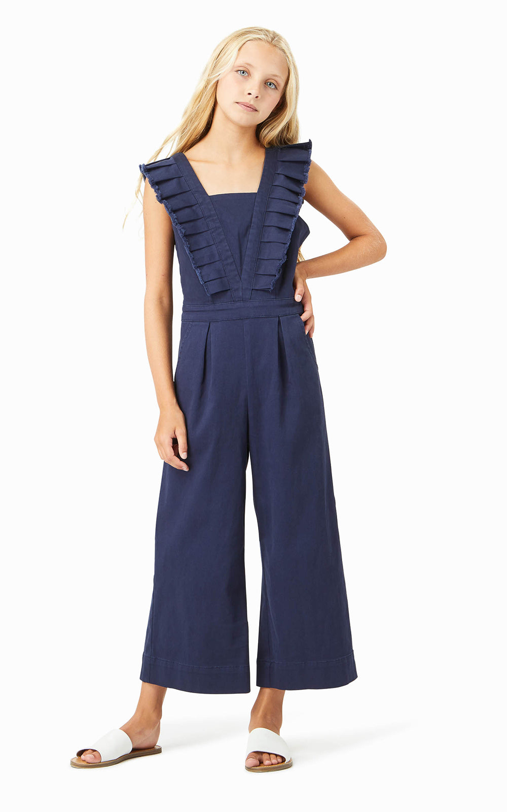 Remington Pleated Jumpsuit