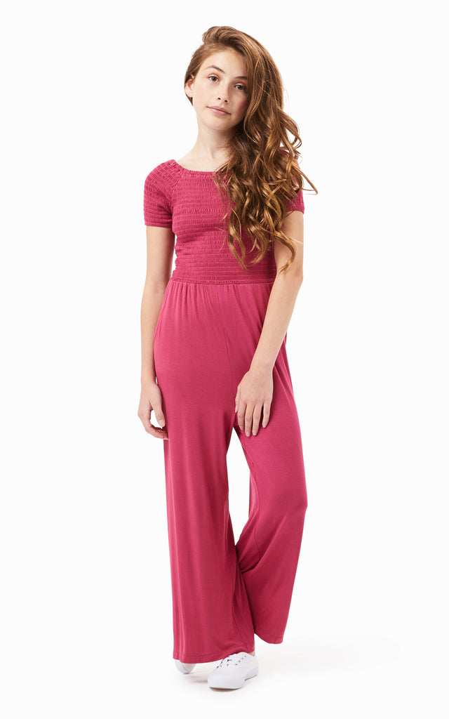 Colette Smocked Jumpsuit