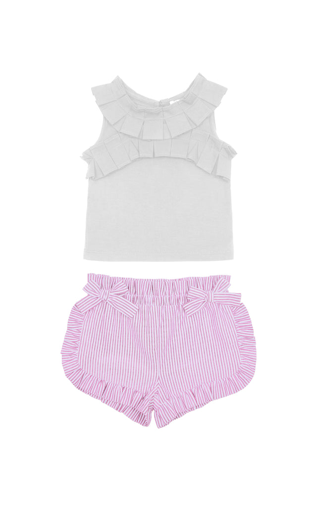 Hazel Pleated Short Set