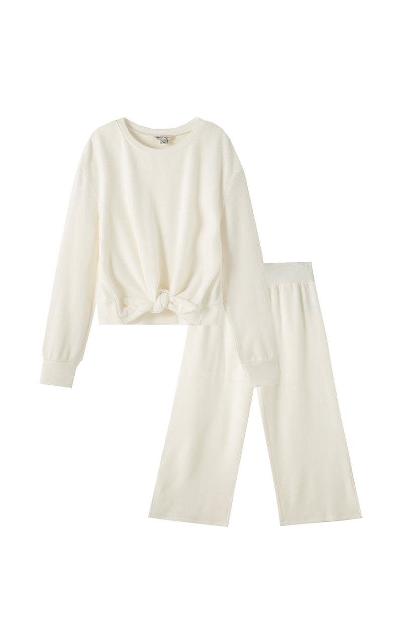Hayley Palazzo Pull On Pant Set | 7-16