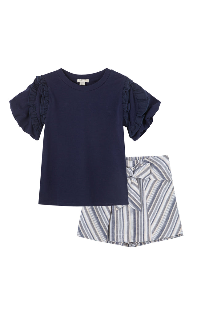 Sabrina Pleated Top Short | 2-4T