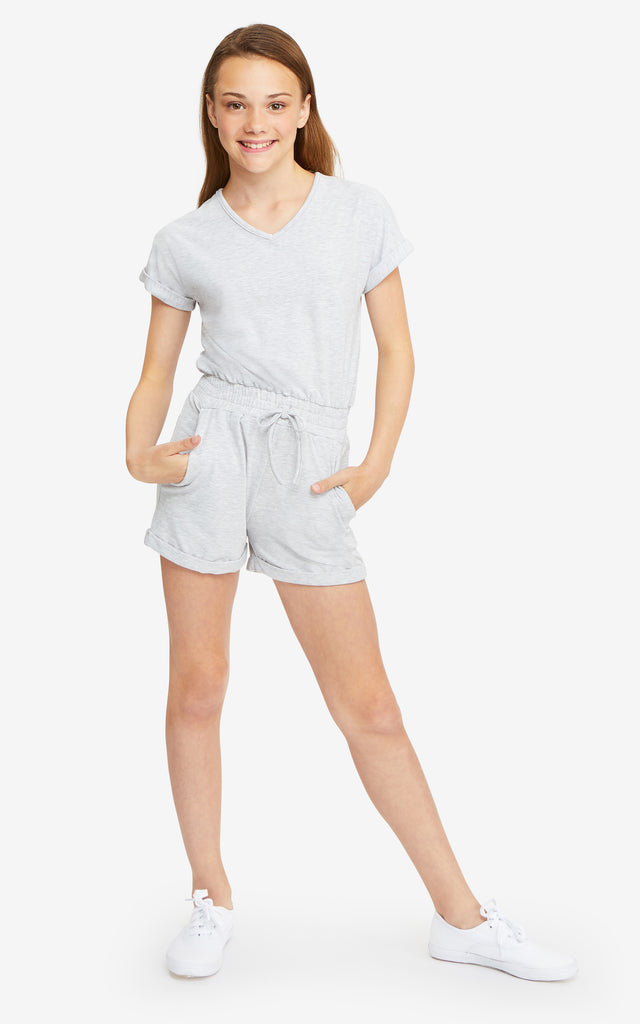 Steffy V-Neck Romper