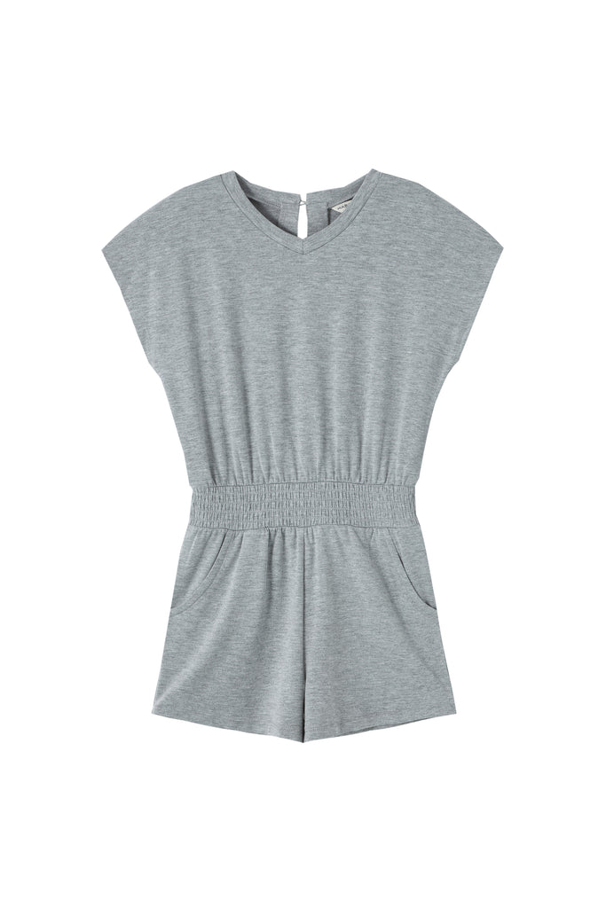 V-Neck Knit Romper  | 4-6X