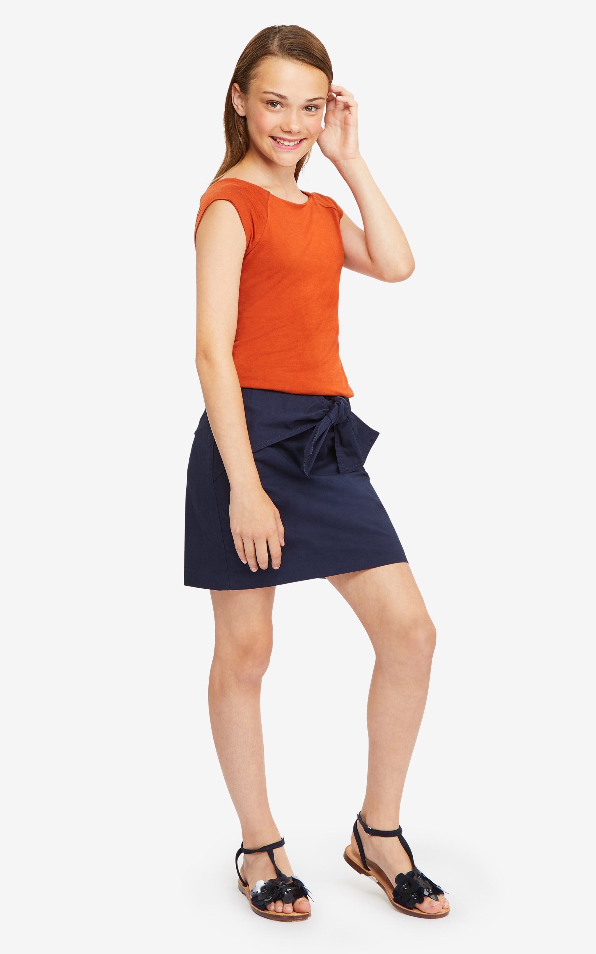 Tilly Bow Skirt | 7-16 - Habitual