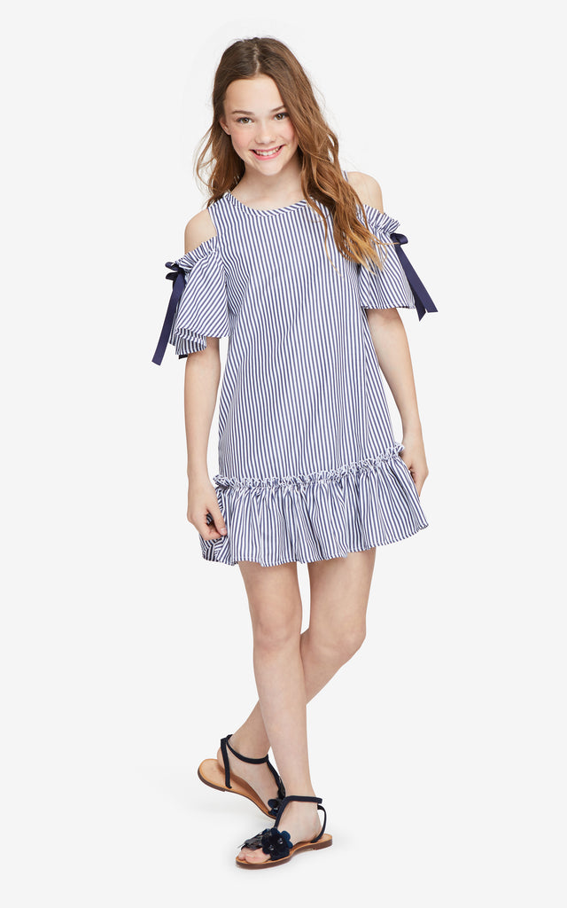 Nancy Cold Shoulder Dress