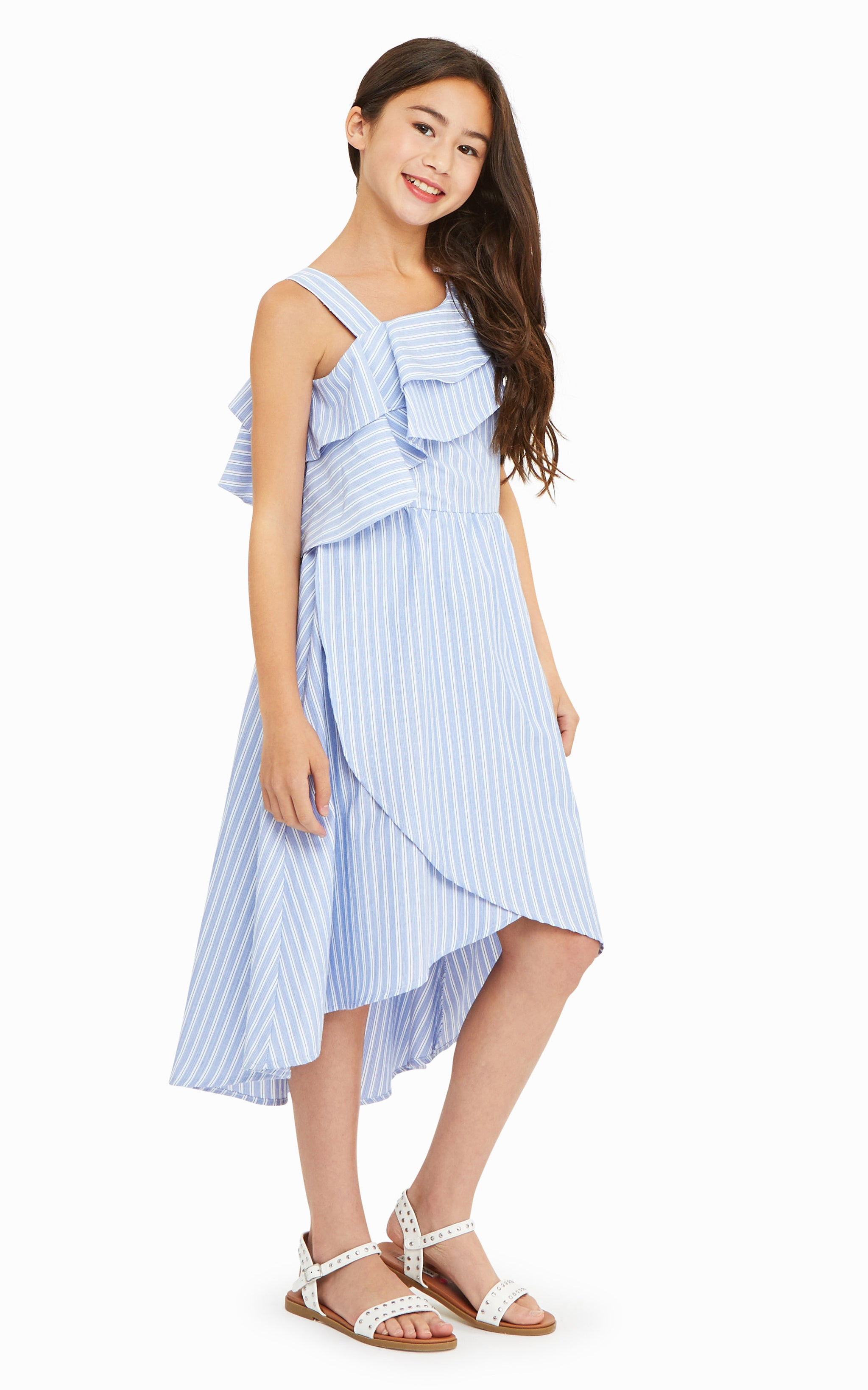 Olympia Cold Shoulder Dress - Habitual