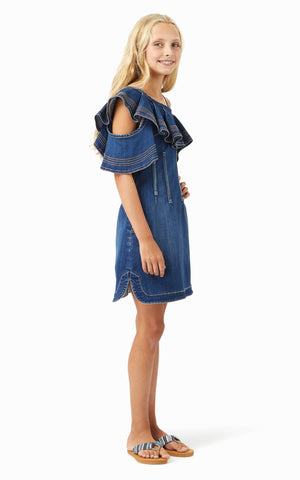 Stevie Ruffle Dress | 7-16 - Habitual
