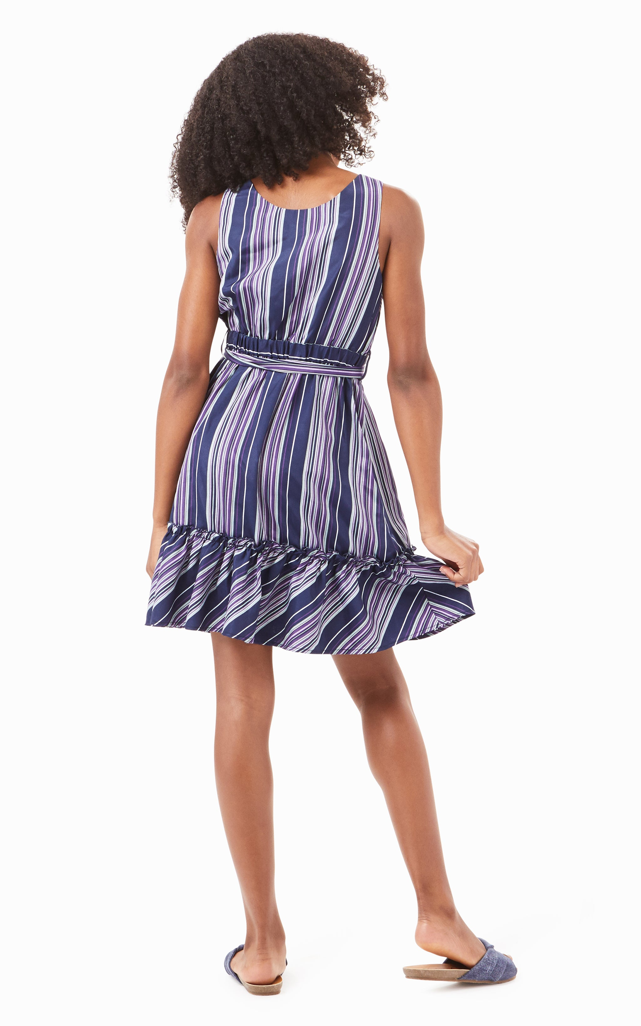Baylee Stripe Dress | 7-16 - Habitual