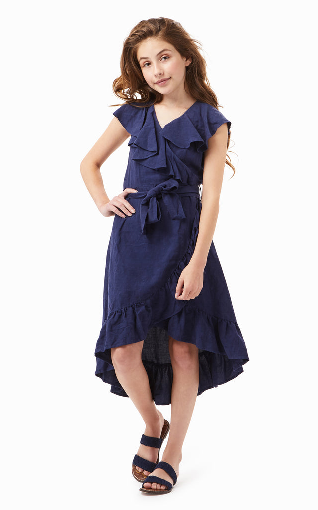 River Ruffle Dress