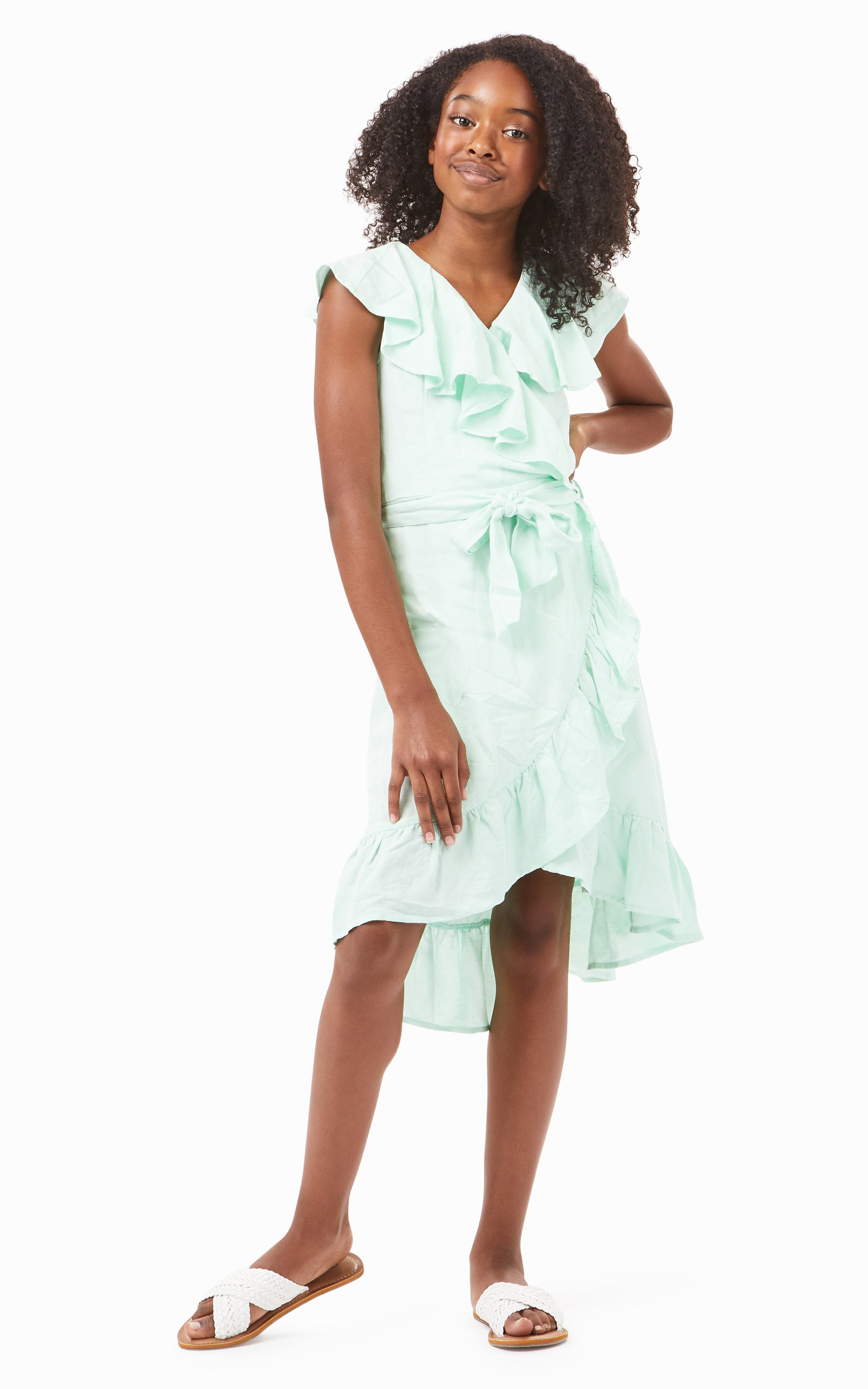 River Ruffle Dress | 7-16 - Habitual