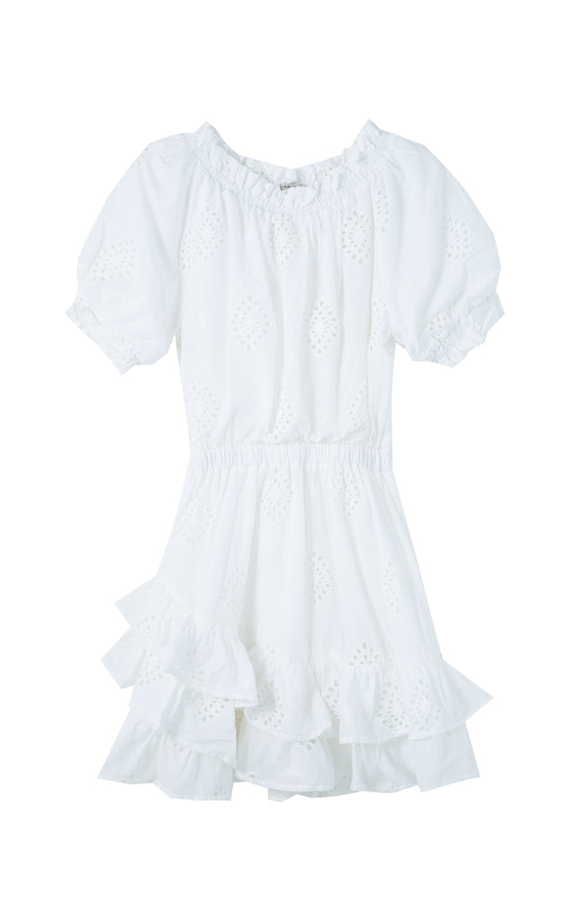 Cotton Allover Eyelet Dress | 7-16