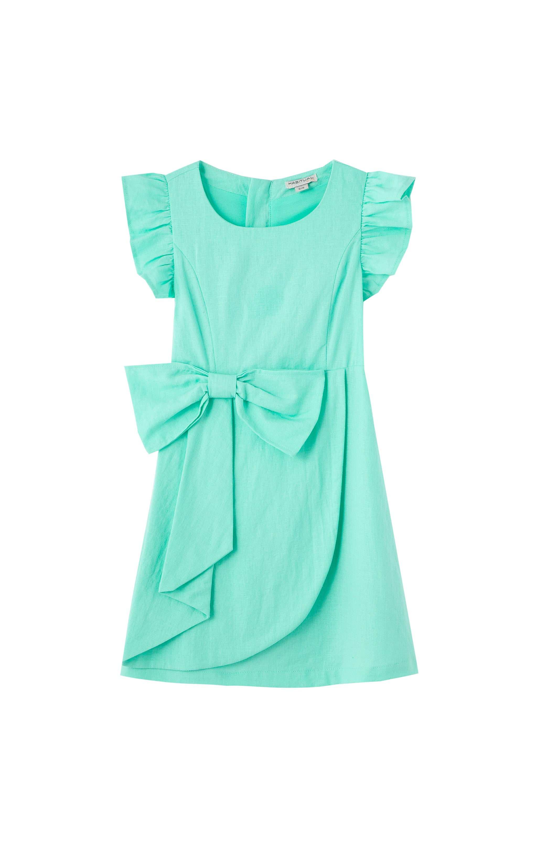Drape Wrap Dress | 2-4T