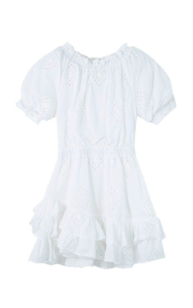 Cotton Eyelet Dress | 2-4T