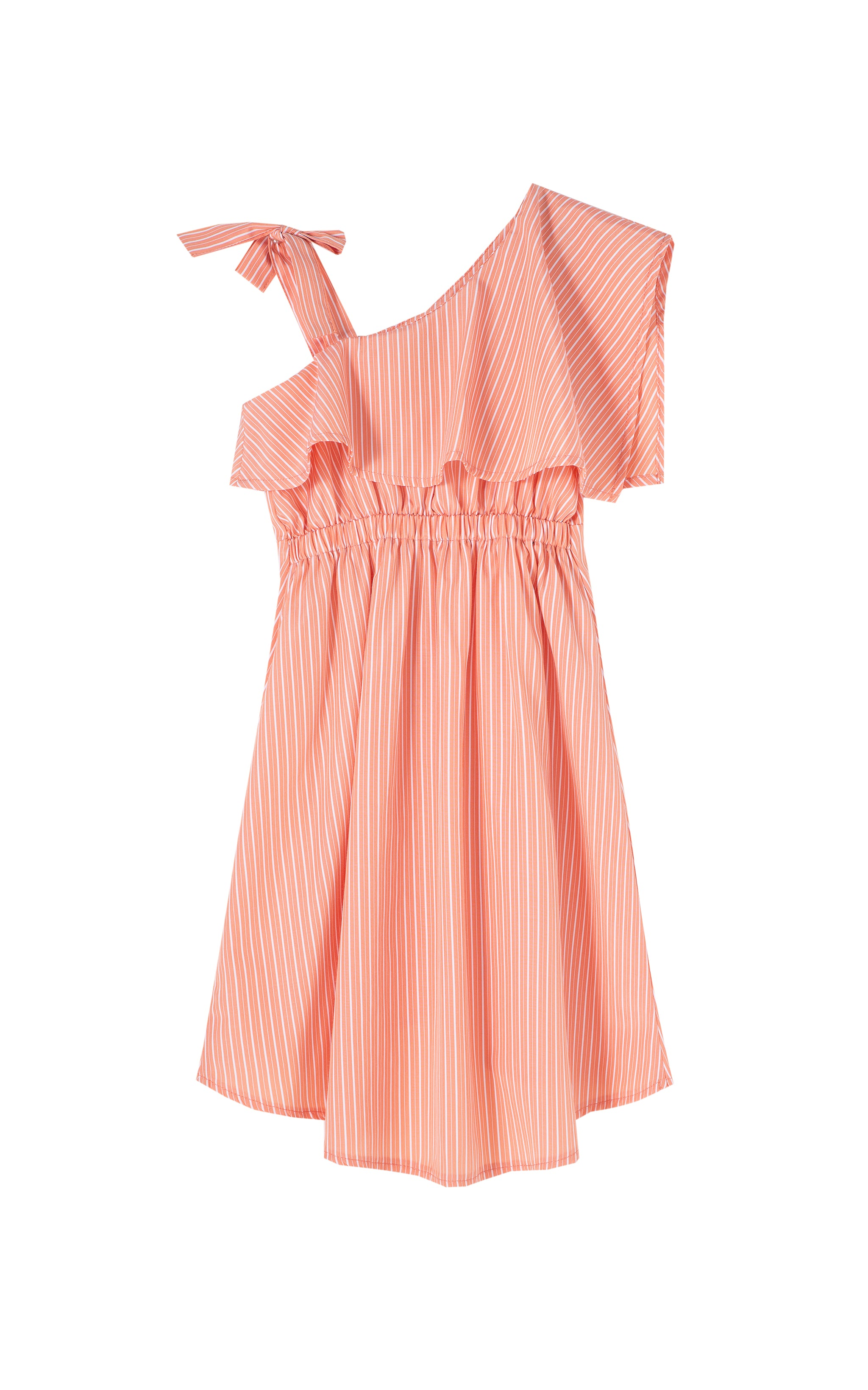 Asymmetrical High Low Dress | 2-4T