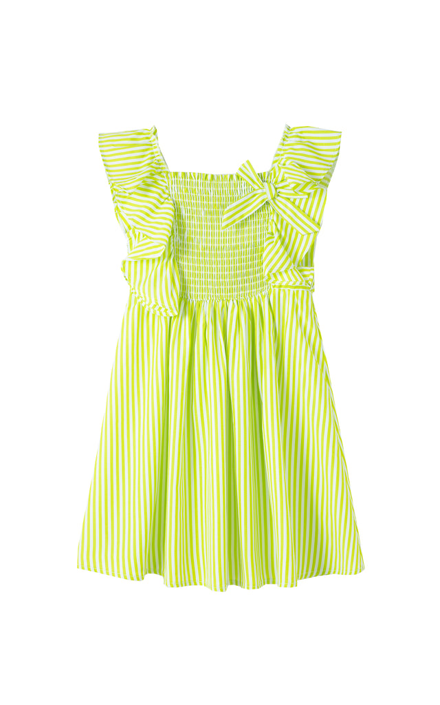 Smocked Flounce Dress | 2-4T
