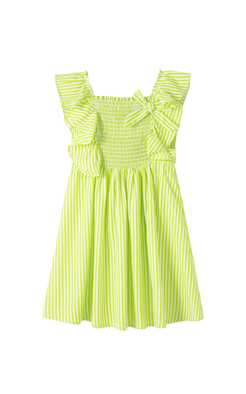 Smocked Flounce Dress | 4-6X