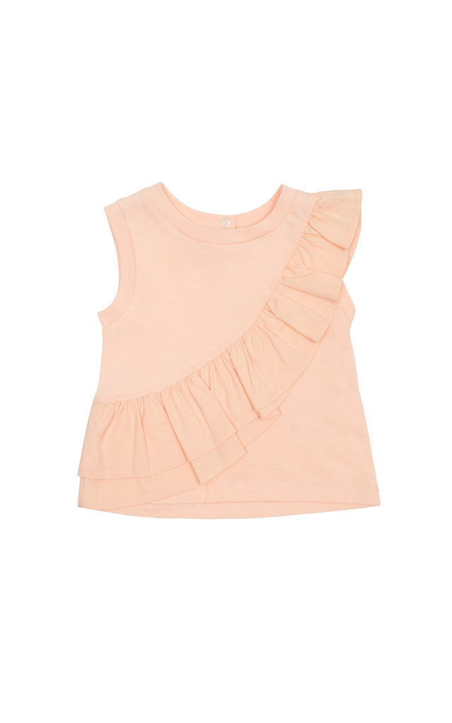Calista Ruffle Top