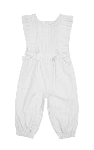 Eliana Swiss Dot Jumpsuit | 12-24M - Habitual