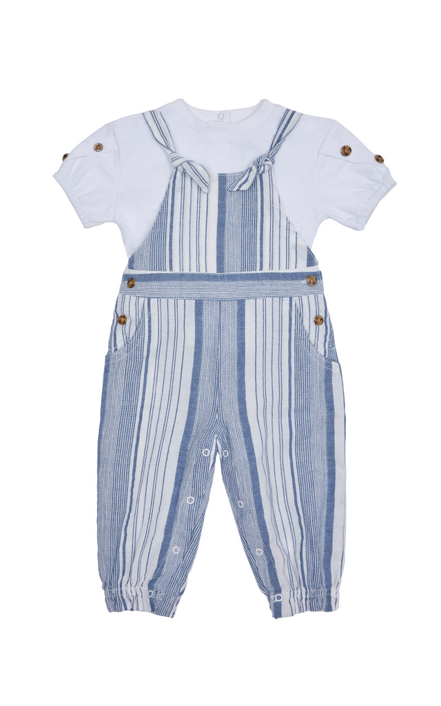 Symone Stripe Jumpsuit Set