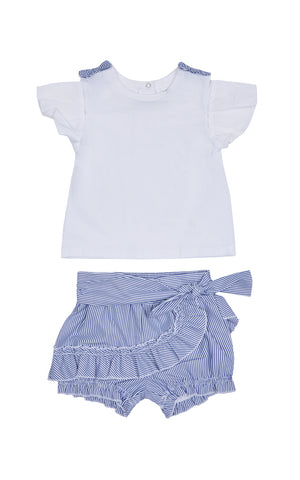 Rylan Bubble Short Set | 12-24M - Habitual