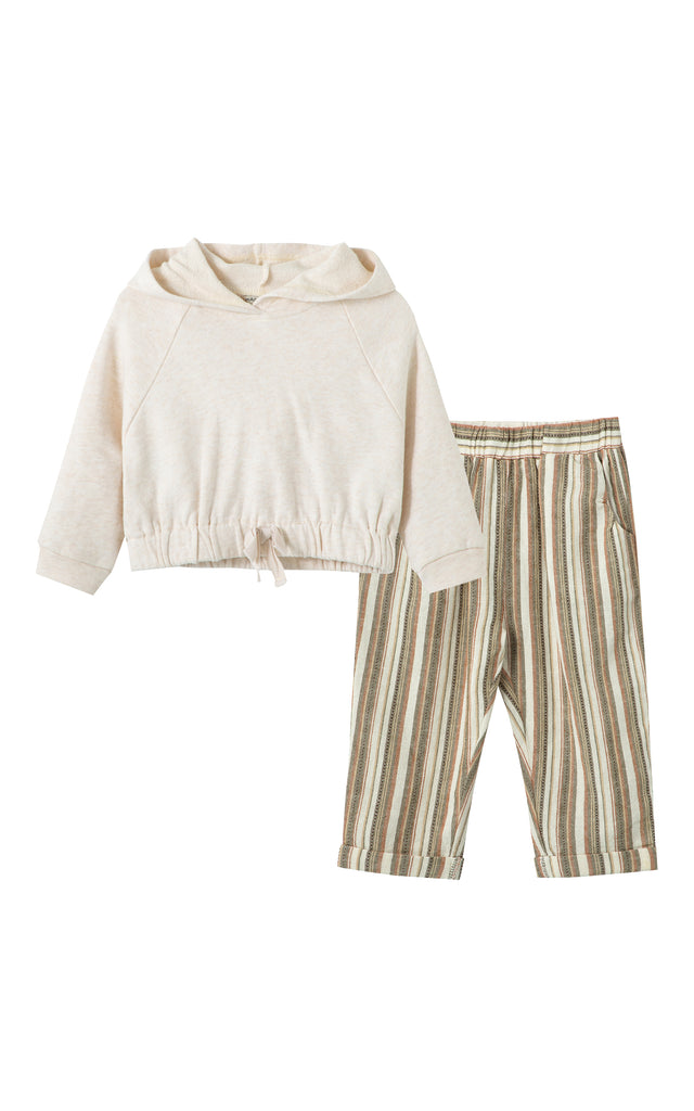 Pullover Cuffed Pant Set | 12-24M