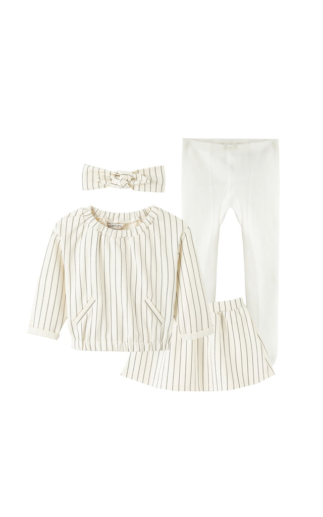 Samara 4-Piece Skirt Set | 12-24M