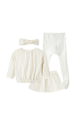 Samara 4-Piece Skirt Set | 12-24M - Habitual