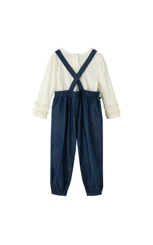 Stephanie Jumpsuit Set | 12-24M - Habitual
