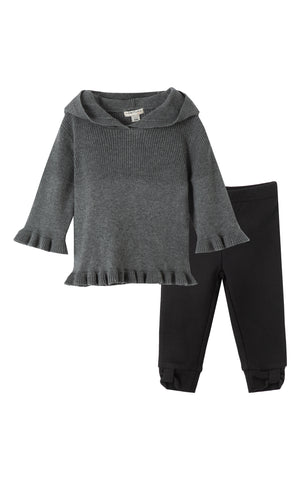 Madison Ruffle Sweater Set | 4-6X - Habitual