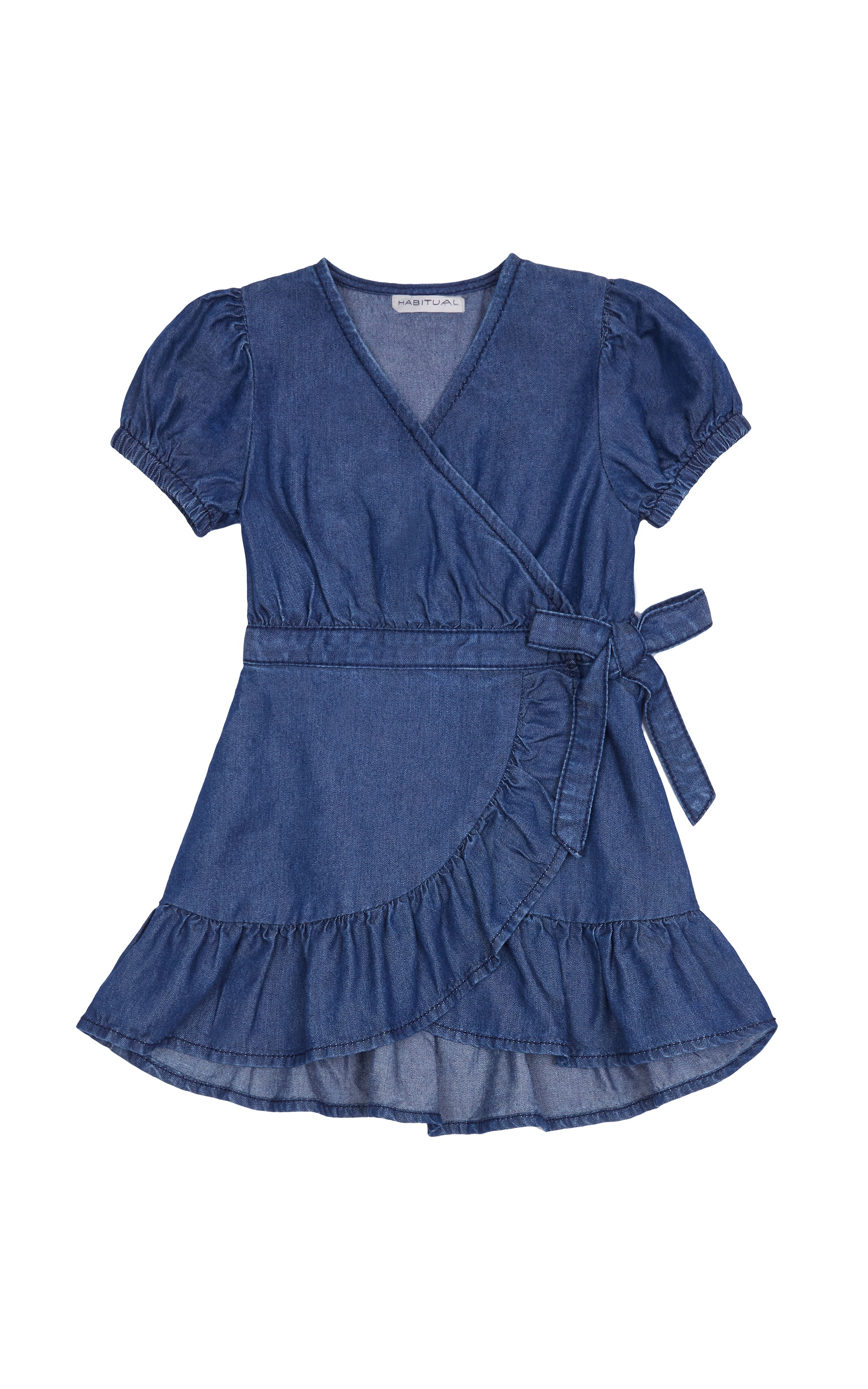 Shae Wrap Dress | 2T-4T - Habitual