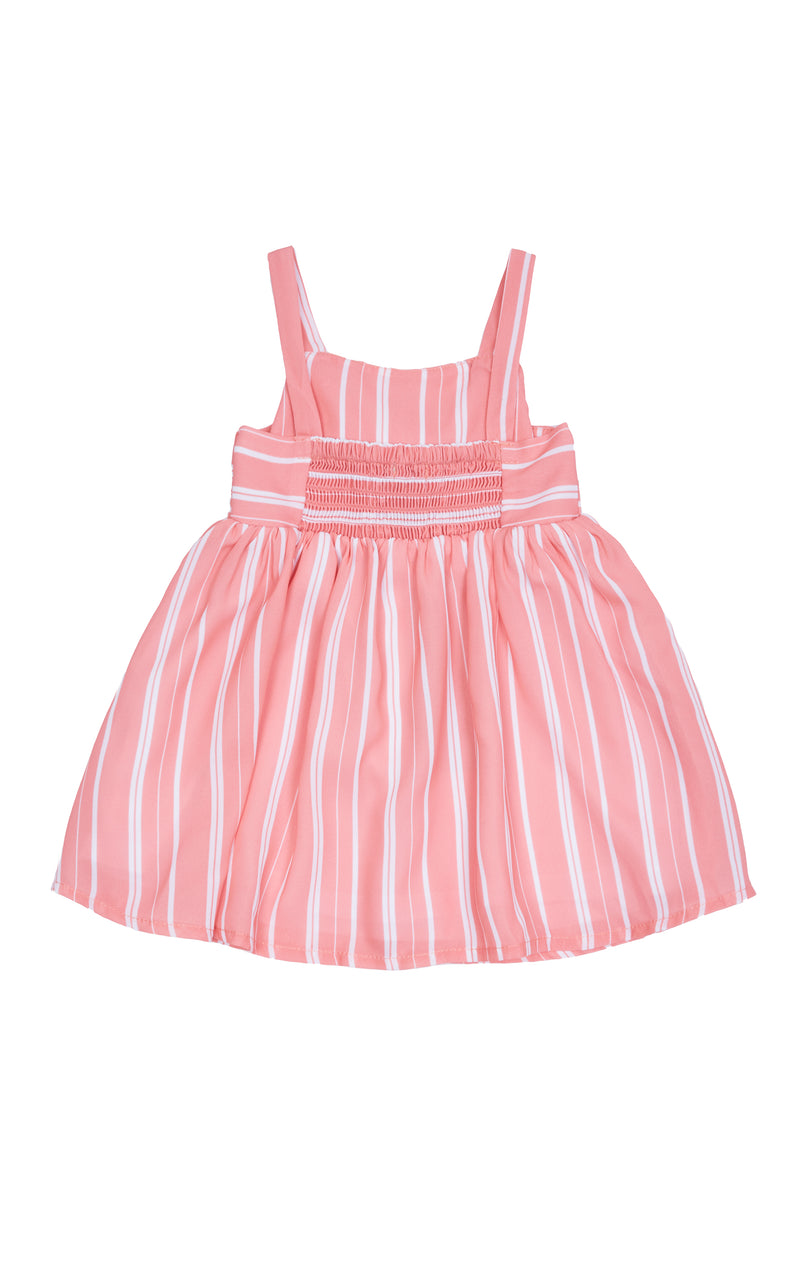 Front Twist Dress | 2T-4T - Habitual