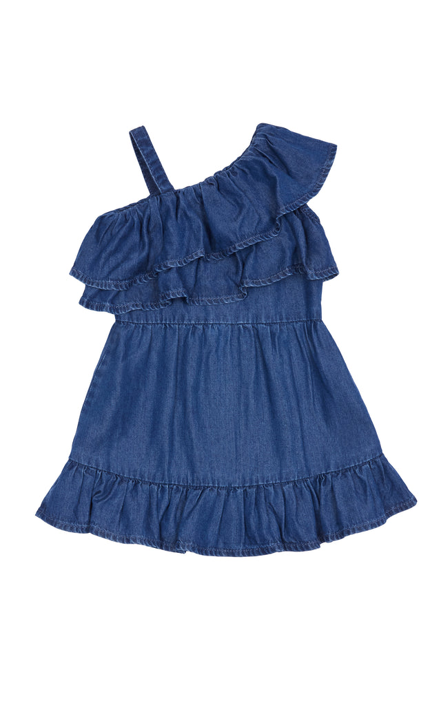 Ruffle Wrap Dress | 2T-4T