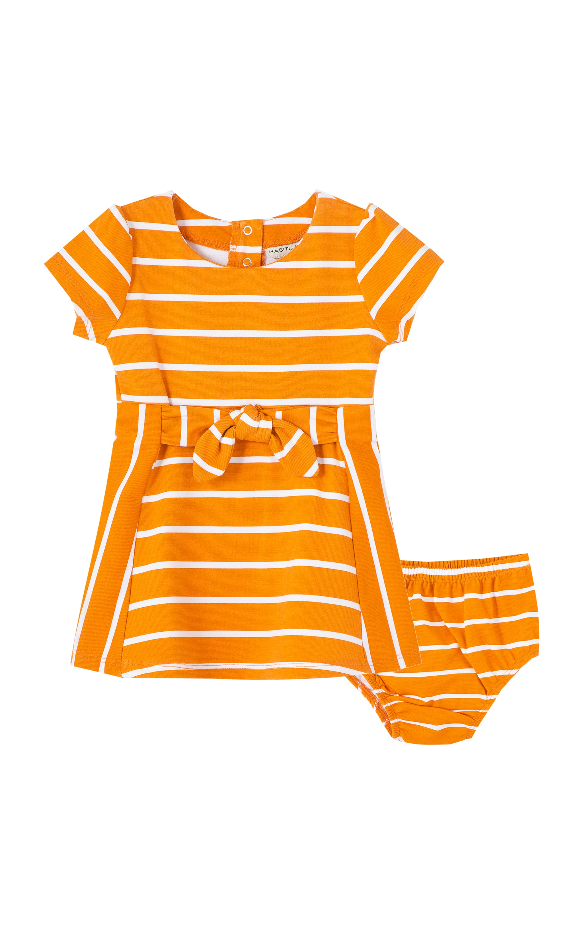Estelle A-Line Stripe Dress | 12-24M