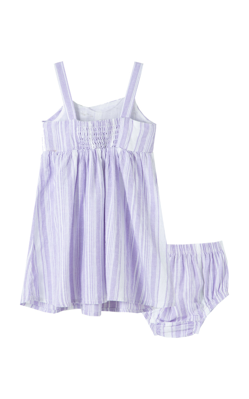 Drape Babydoll Dress | 12-24M