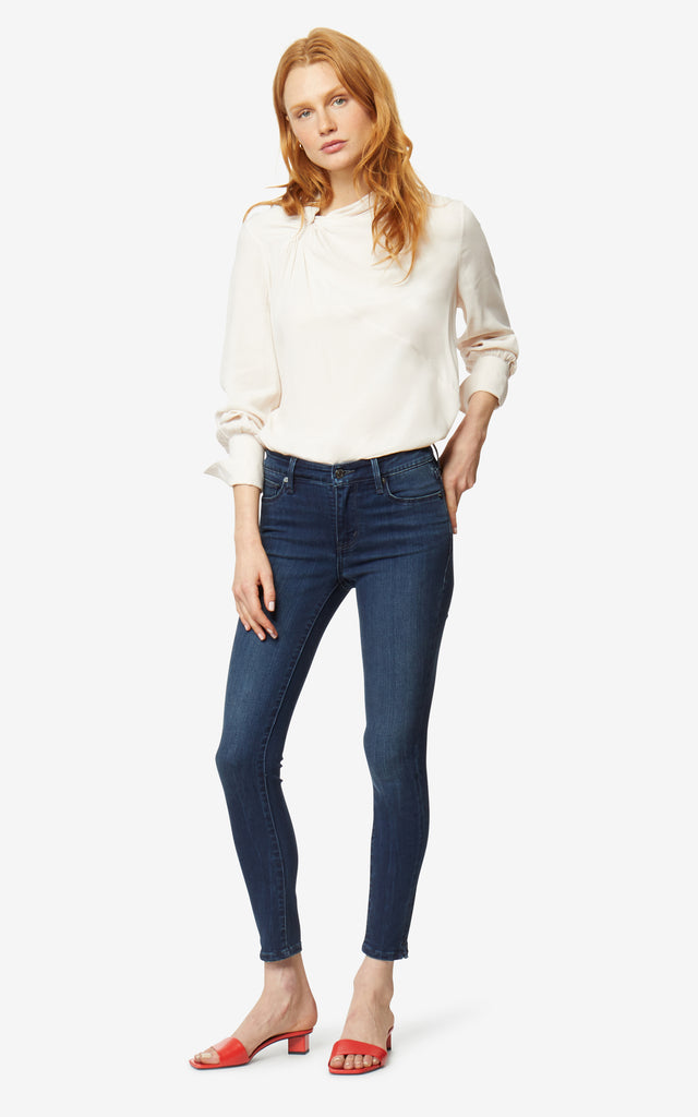 Marina Mid-Rise Ankle Skinny Jeans