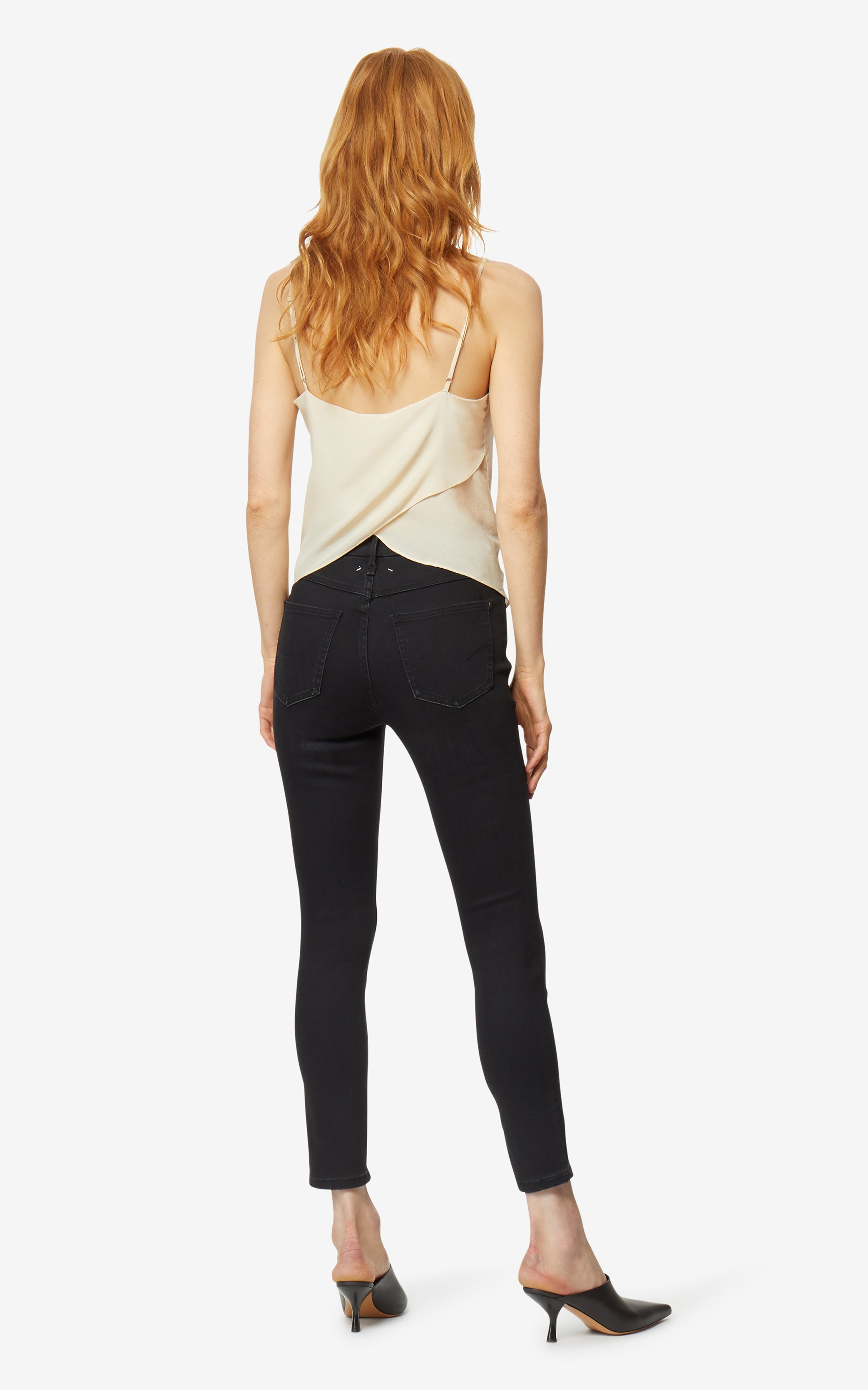 Cressa High Rise Ankle Skinny Jeans