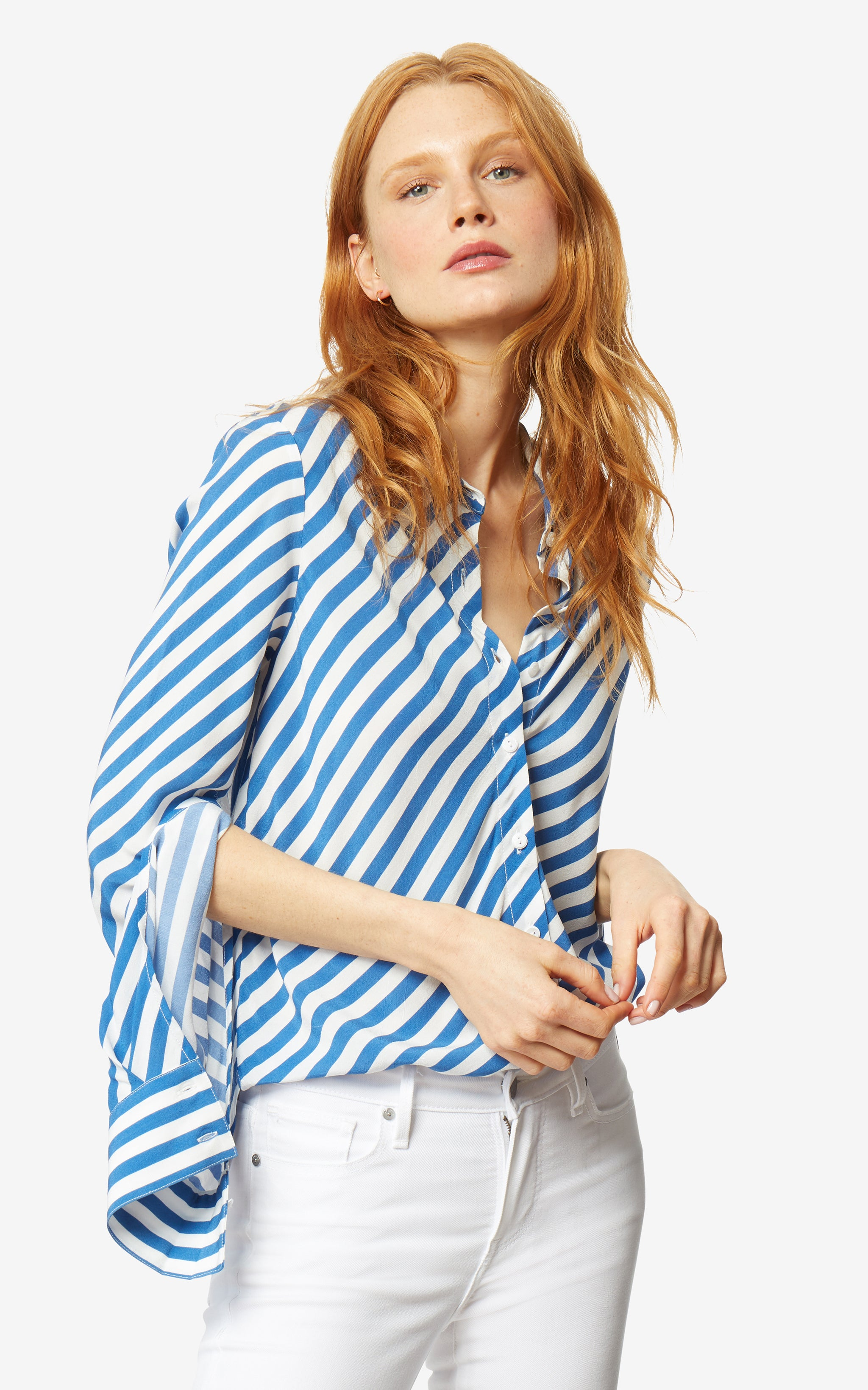 Blue/White Stripe