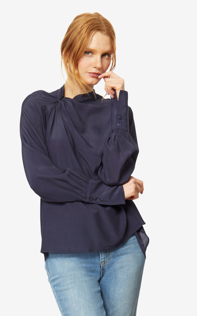 Athena Twist Neck Top
