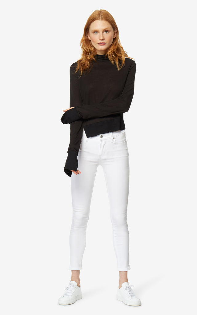Nan Asymmetric Turtleneck