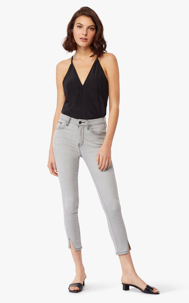 Aimie High Rise Ankle Skinny Jeans