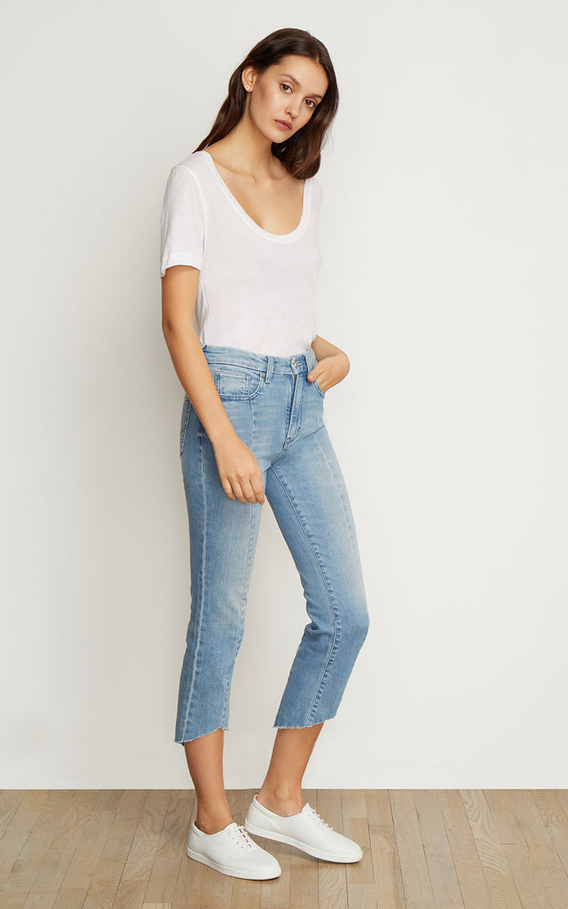 Pace Vamp Cropped Jeans