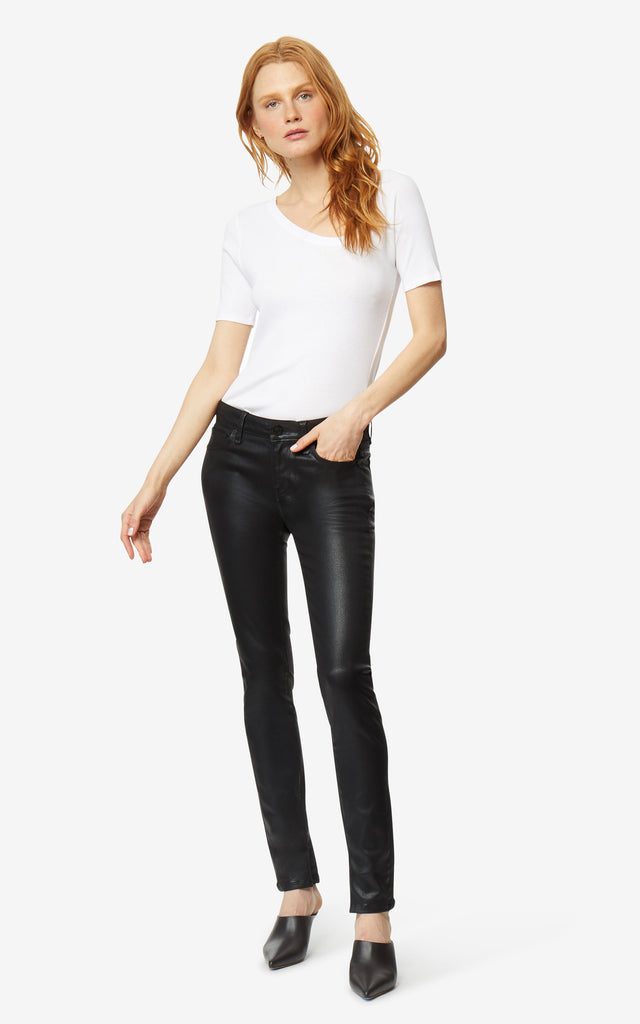 Cressa High Rise Coated Skinny Jeans