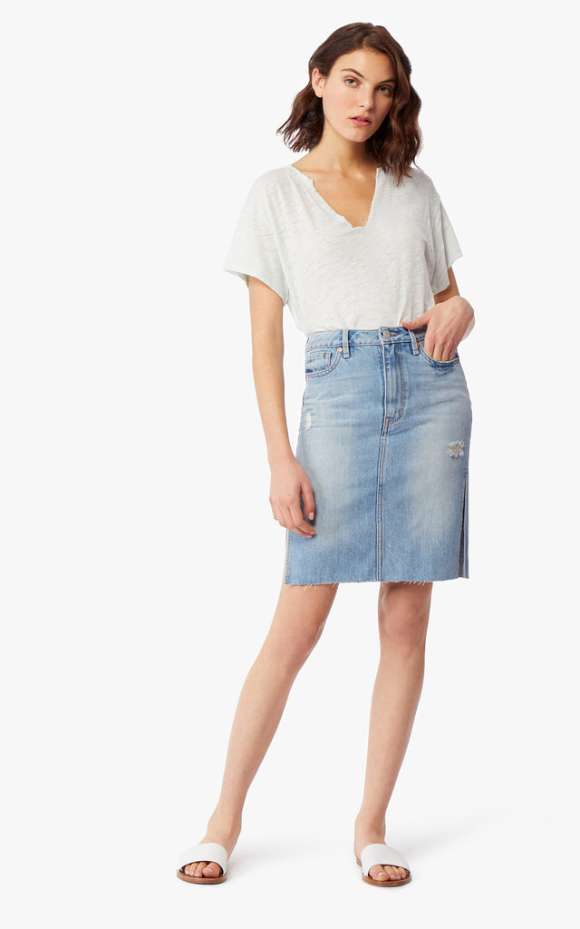 Willa Denim Skirt