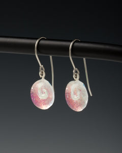 Earring Single Droplet-Pink ©